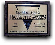 1993 Pacesetter Awards Finalist.